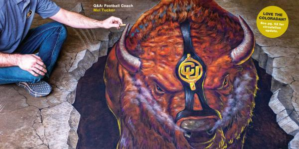 Coloradan Cover: Chalk Ralphie