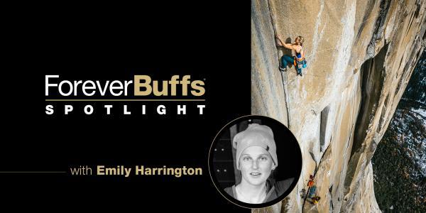 forever buffs spotlight with Emily Harrington