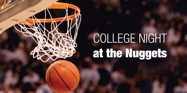 College Night at the Nuggets