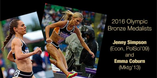 Forever Buffs Spotlight with jenny simpson and emma coburn