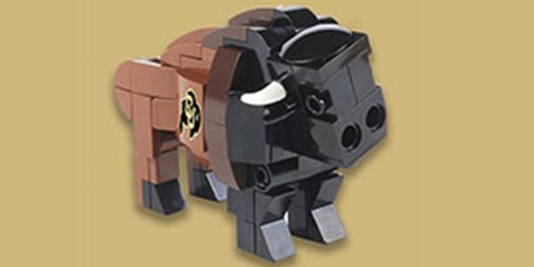 CU Boulder Lego gift set