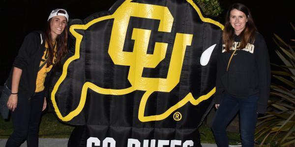 CU at Oregon Buffs Bash