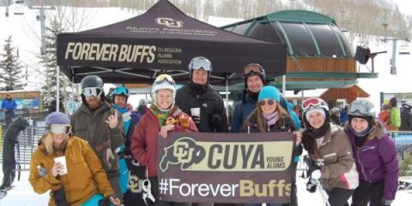 Young Alumni Ski Trip