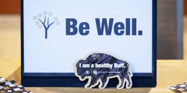 materials on campus that inspire wellness