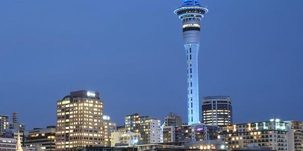 Cityscape of Auckland
