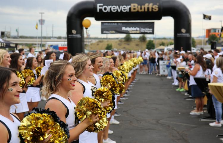 Cheer on the Buffs!