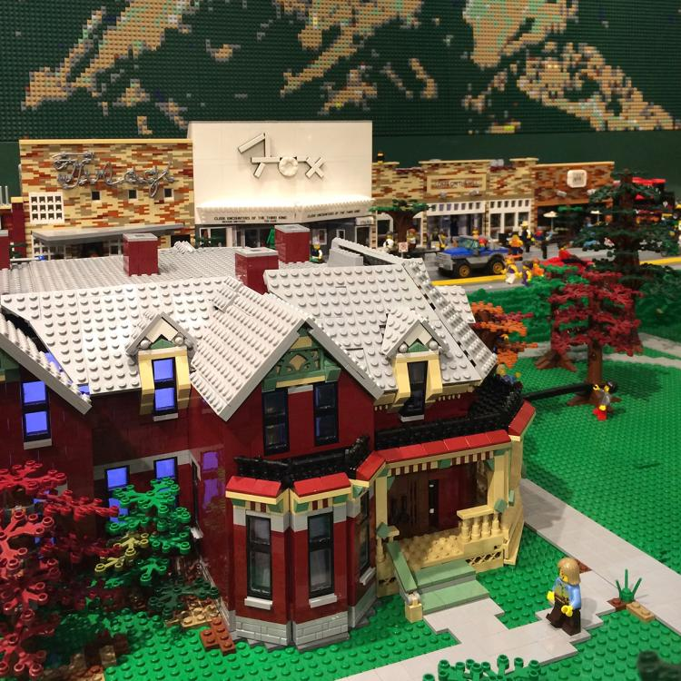 Hit the Bricks lego exhibit
