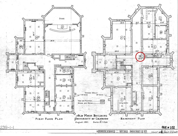 old main floor plan