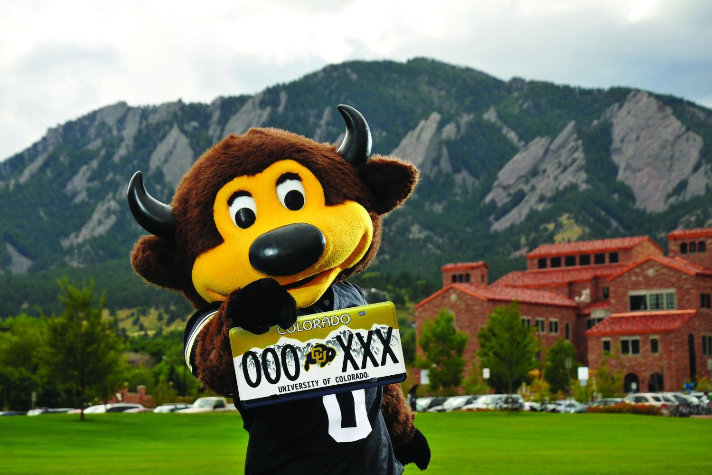 Buy a CU Boulder license plate