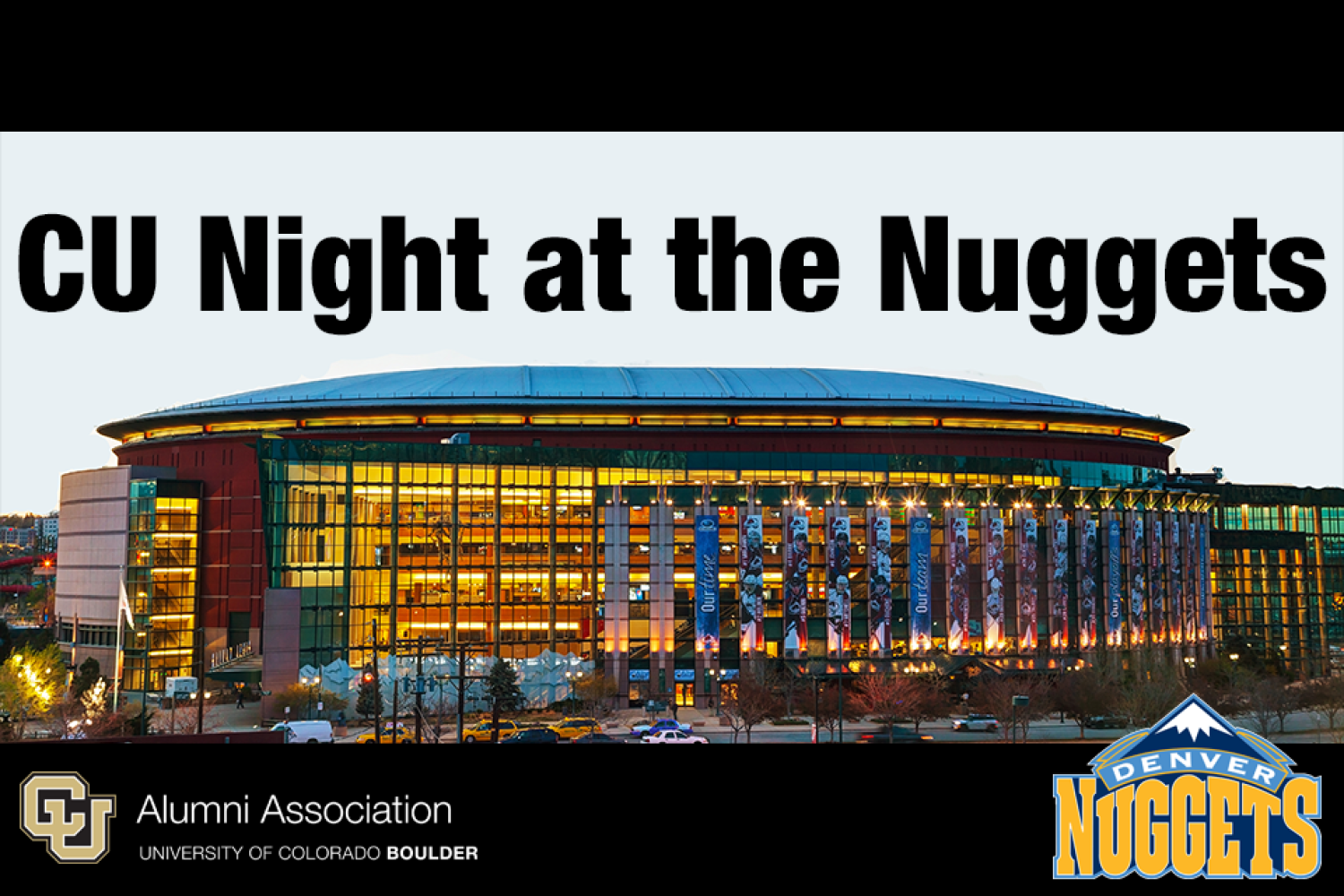 CU Night at the Nuggets is coming!