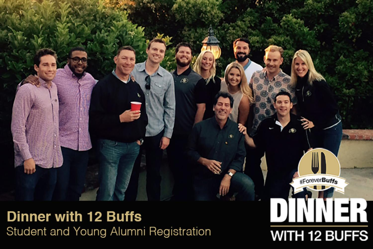 Dinner with 12 Buffs - Student and young alumni