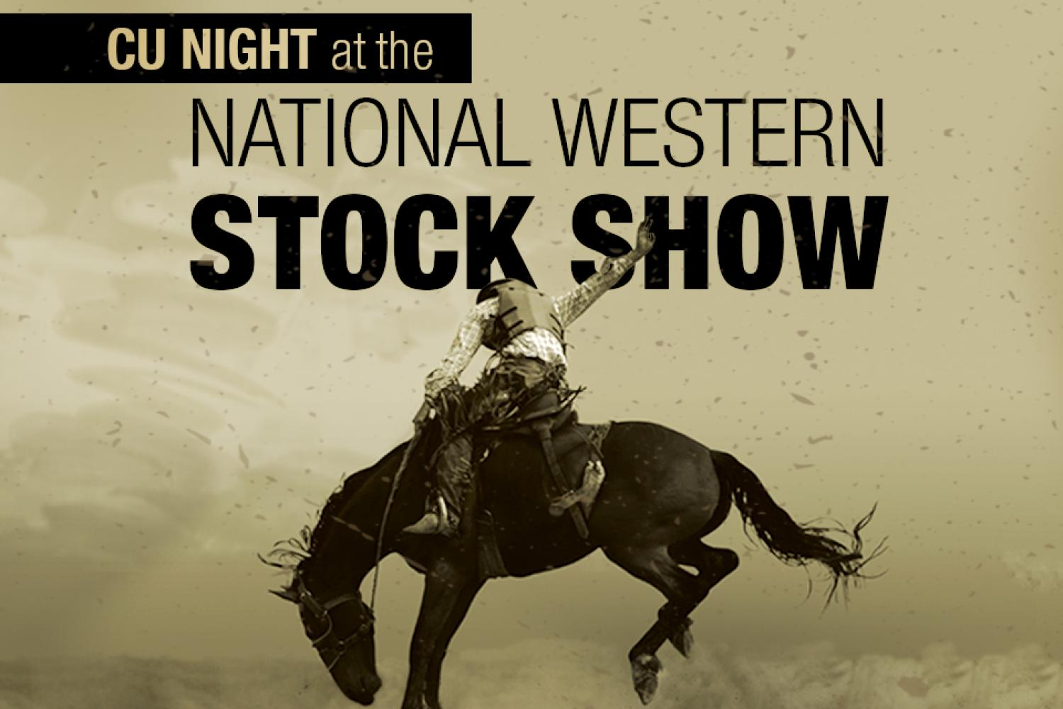 Don't miss CU Night at the Stock Show!