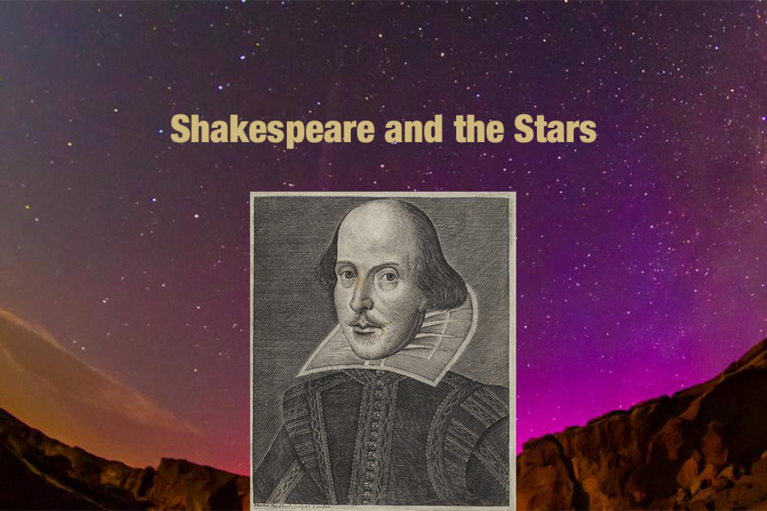 Shakespeare and the Stars is Thursday!