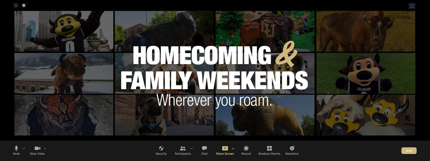 Homecoming and Family Weekends Wherever You Roam