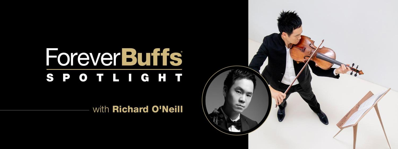 Richard O'Neill playing viola