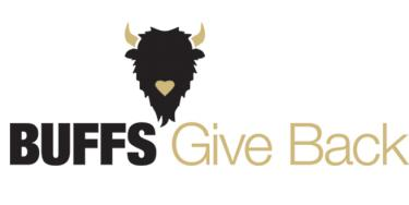 buffs give back logo