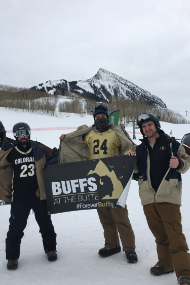 alumni at buffs on the butte