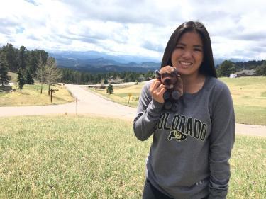 Hanna Skuladottir (MechEngr, PolSci ex'20) Denver Forever Buffs Scholarship Recipient