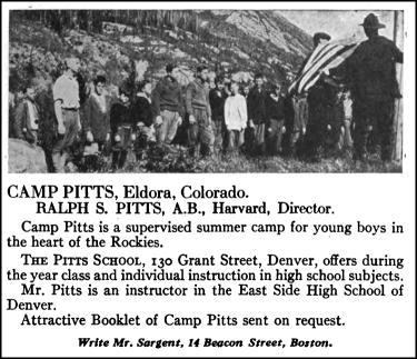 Camp Pitts Ad