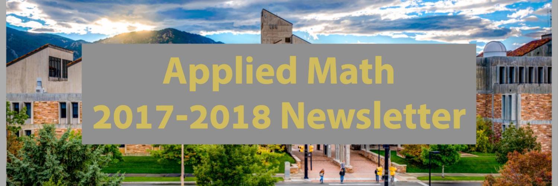 APPM 2017-2018 Newsletter