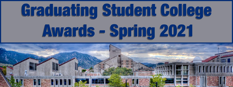 Graduating Student Awards