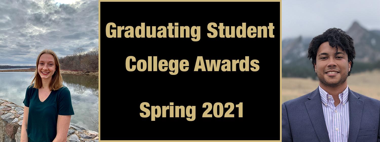 2021 Graduating Student Awards