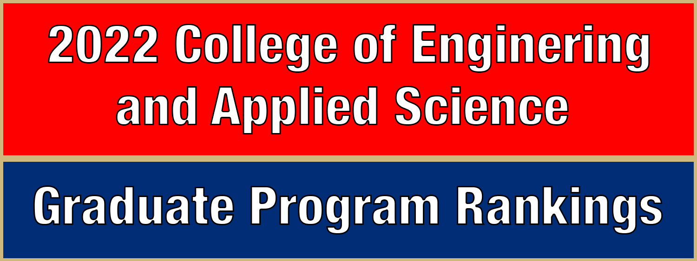 2022 Graduate Program Rankings