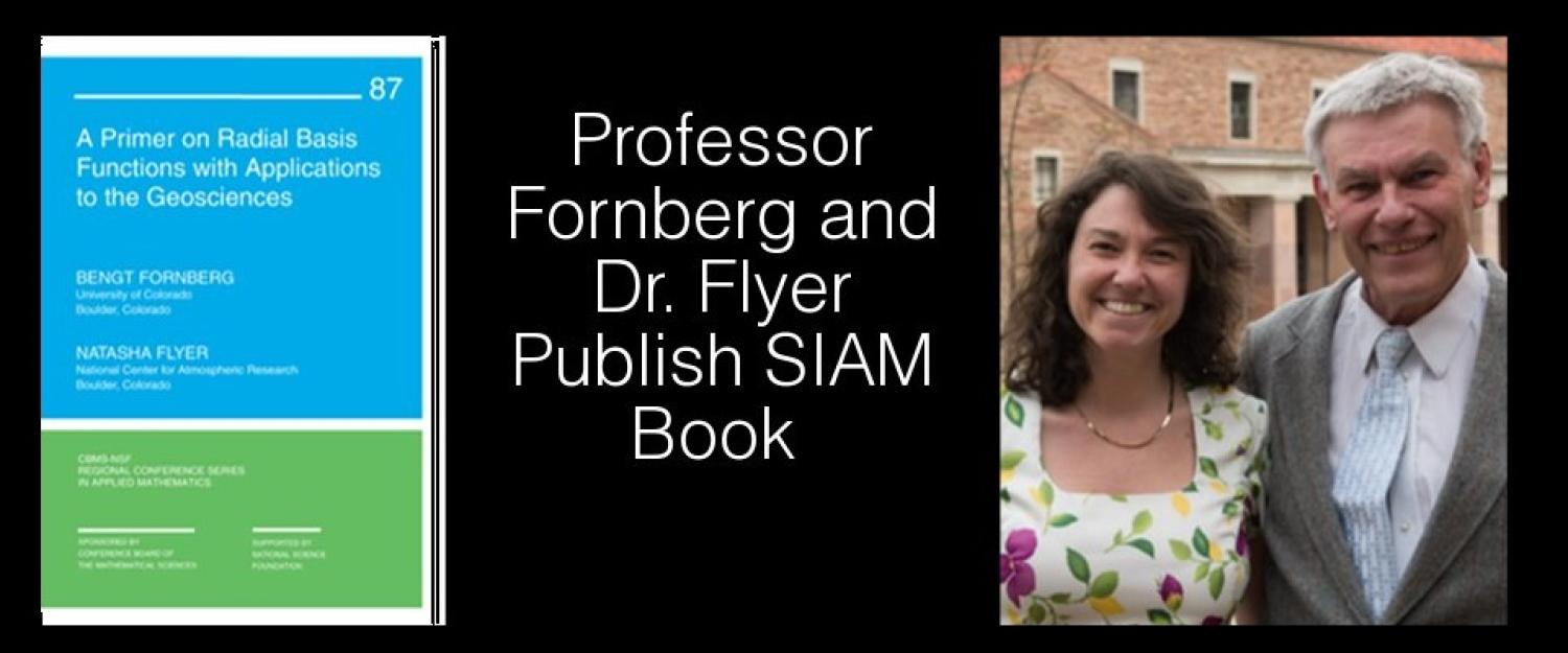 Fornberg and Flyer publish SIAM book