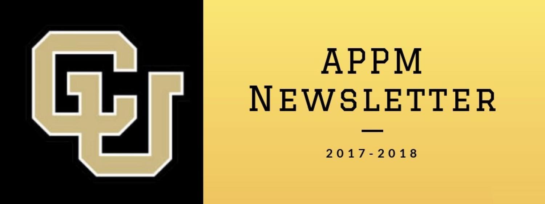 2017=2018 APPM Newsletter