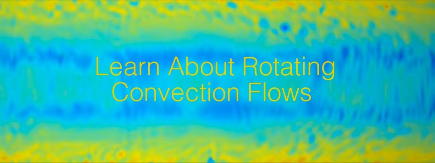 Learn About Rotating Convection Flows