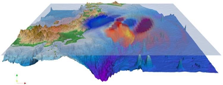 An oceanic map