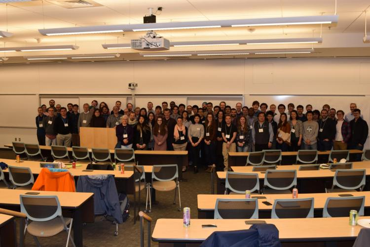 SIAM Conference Photo