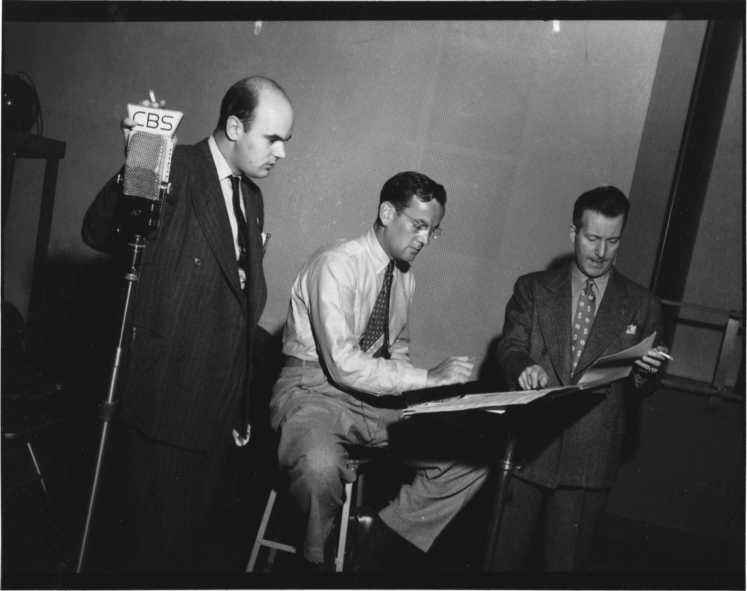 Glenn Miller working with Producers