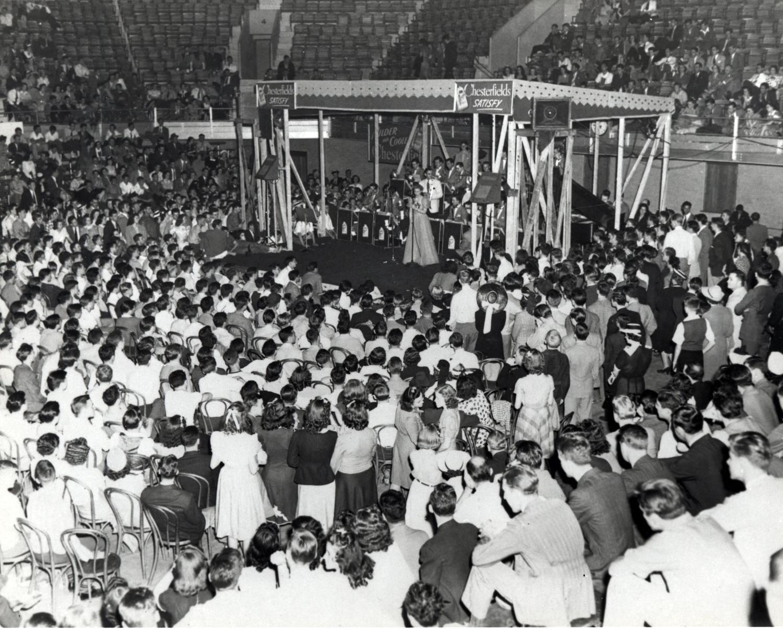 Event at Duke University in 1940