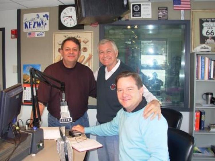GMA Team at the KEZW radio studio