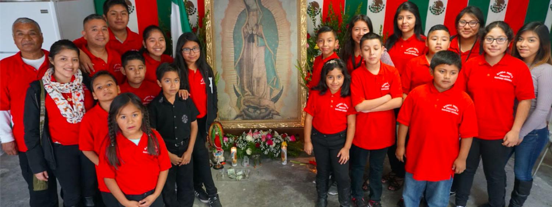 Children members of an L.A.-based banda