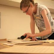 working in the collections