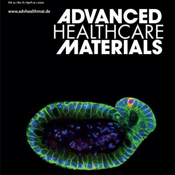 Front Cover: E. Hushka et al. Adv Health Mat, 9 (8), 2020