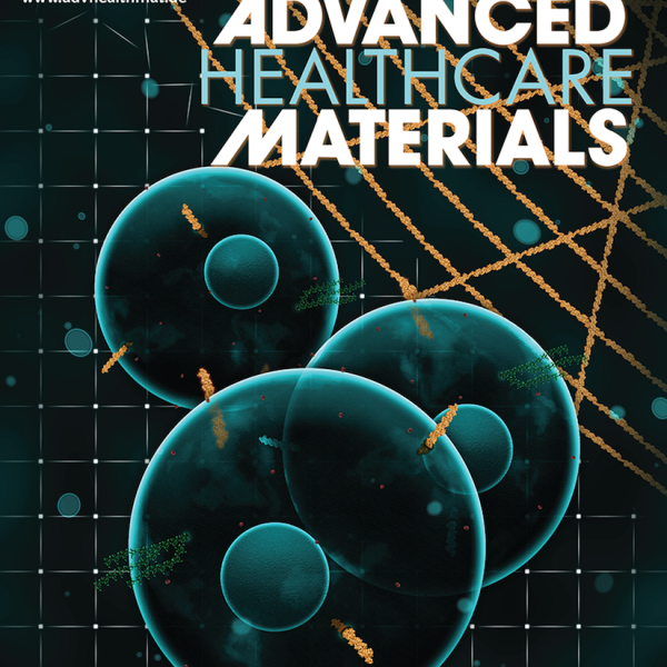 """Front Cover: B.V. Sridhar, J.L. Brock, J.S. Silver, J.L. Leight, M.A. Randolph and K.S. Anseth """"Development of a Cellularly Degradable PEG Hydrogel to Promote Articular Cartilage Extracellular Matrix Deposition"""" Advanced Healthcare Materials (2015)"""