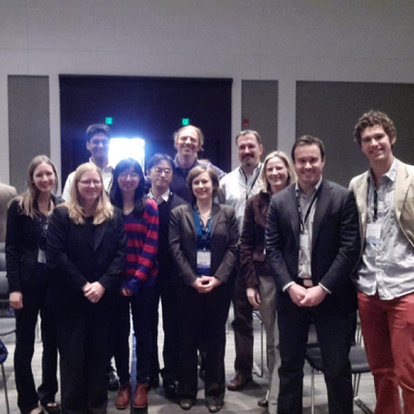 Anseth Group reunion at SFB Spring Meeting