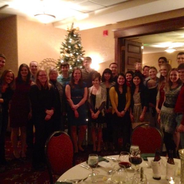 Anseth Group Winter 2013 Holiday Party at the Boulderado