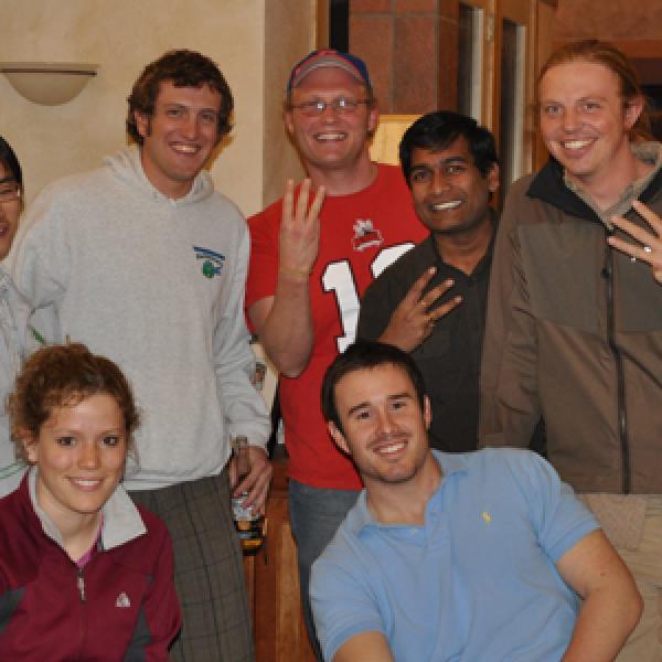 Anseth Group at HHMI renewal party