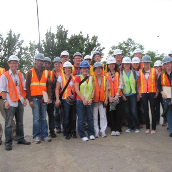 Anseth Group touring JSCBB while under construction