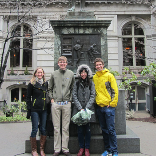 Anseth Group hits the Freedom Trail in Boston