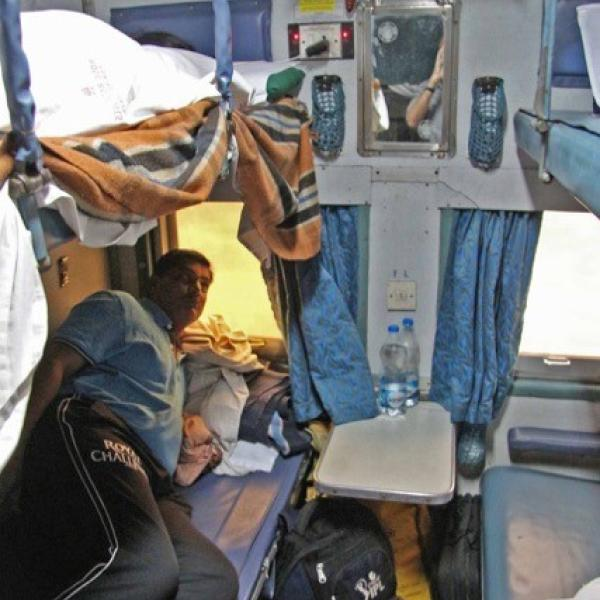 Train sleeper car