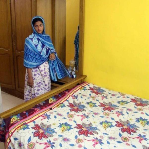 Contemporary Koya matrilocal bedroom
