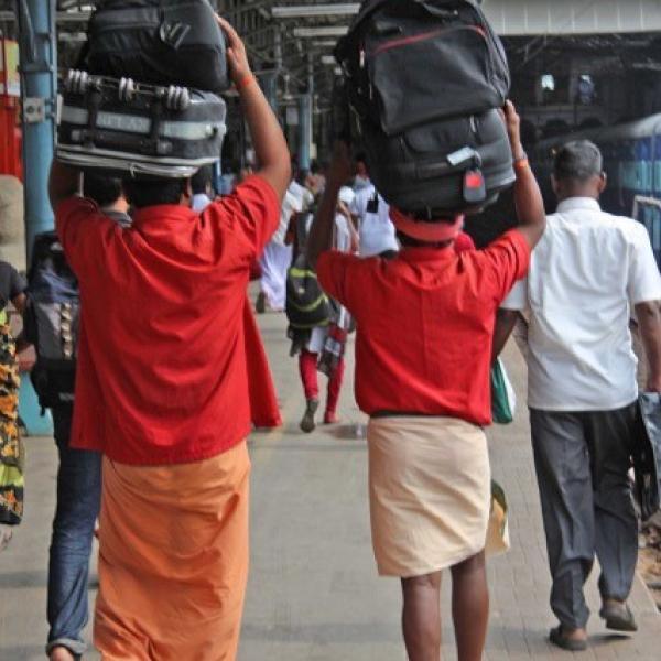 Porters at Chennai Station