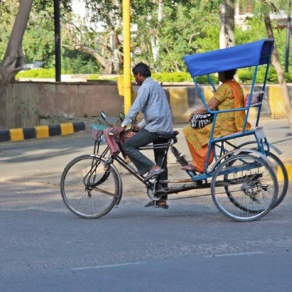 Pedicab in Delhi