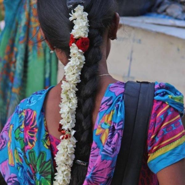 Young Tamil woman