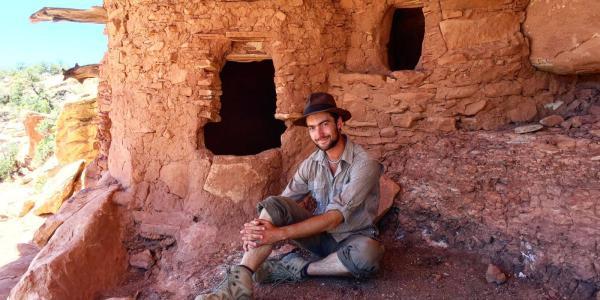 Graduate Student Rob Weiner in Utah